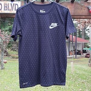 Nike Dri-Fit Black T-Shirt Size Medium